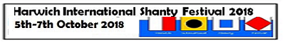 Harwich International Shanty Festival 5th to 7th October 2018